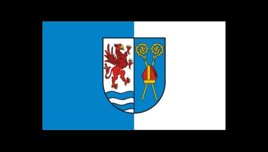 flaga powiatu