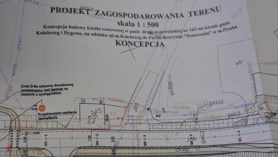 Koncepcja budowy ścieżki rowerowej do Pyszki