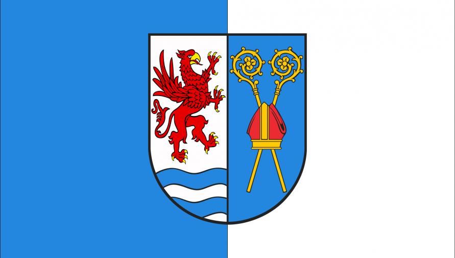 flaga Powiatu Kołobrzeskiego