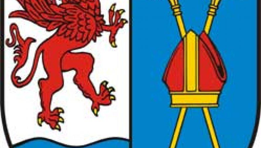 herb powiatu - Kliknięcie w obrazek spowoduje wyświetlenie jego powiększenia